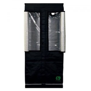 Homebox Growlab Silver 80x80xh180cm